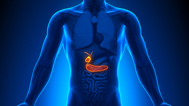 How is like the gallbladder pain?